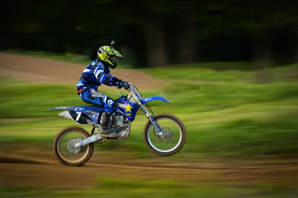 Texas Motocross by Douglas Turney