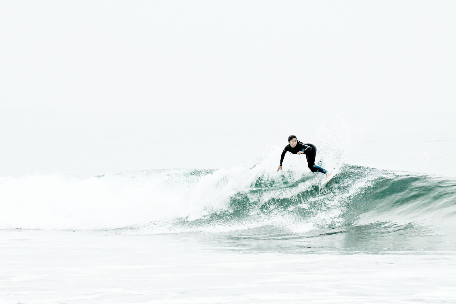 Gray Day Surf by Douglas Turney