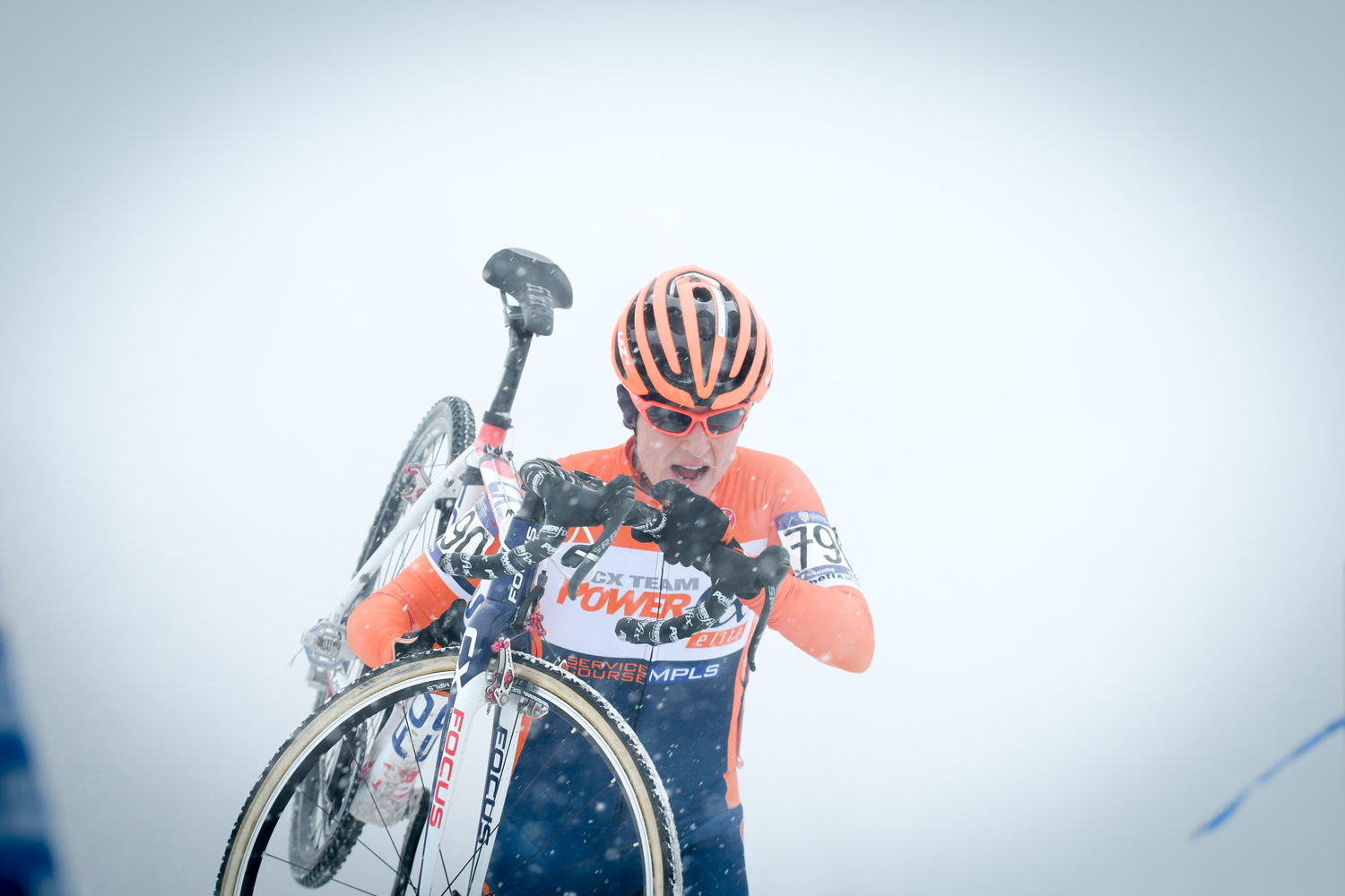 Snowy Cyclecross National Championships  by Douglas Turney