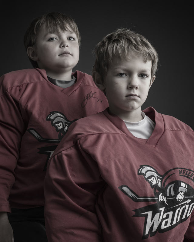 Brothers in net by Robert Raymer