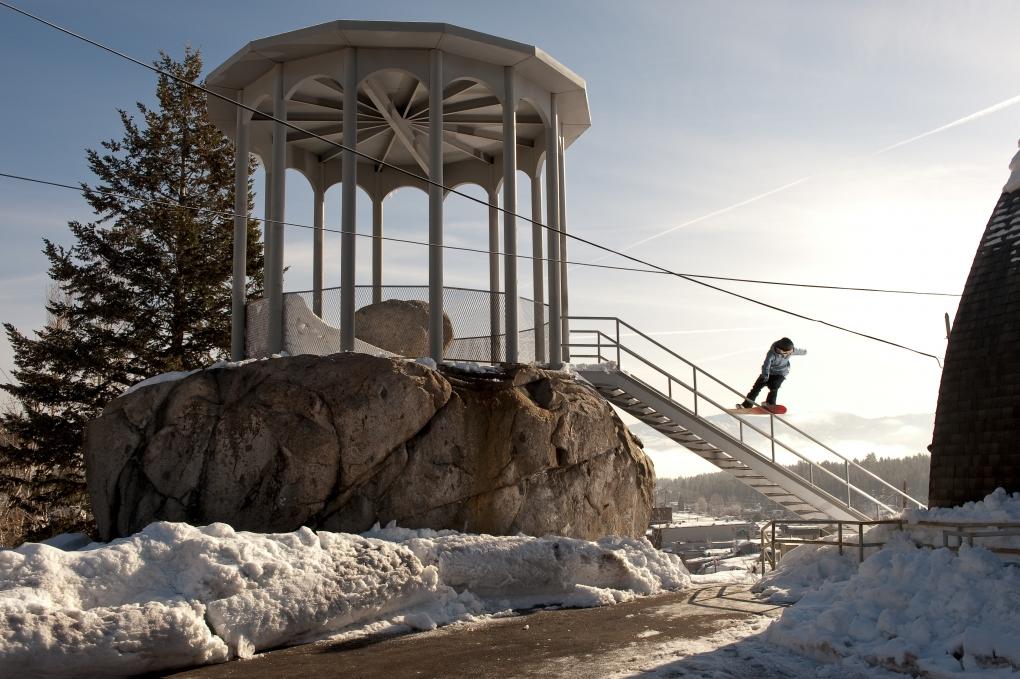 Monument Rail by Matt Palmer