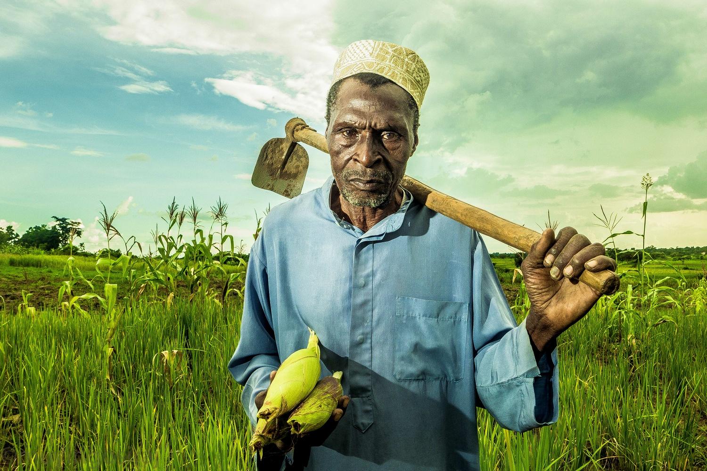 The Farmer and His Corn by Muyingo Siraj