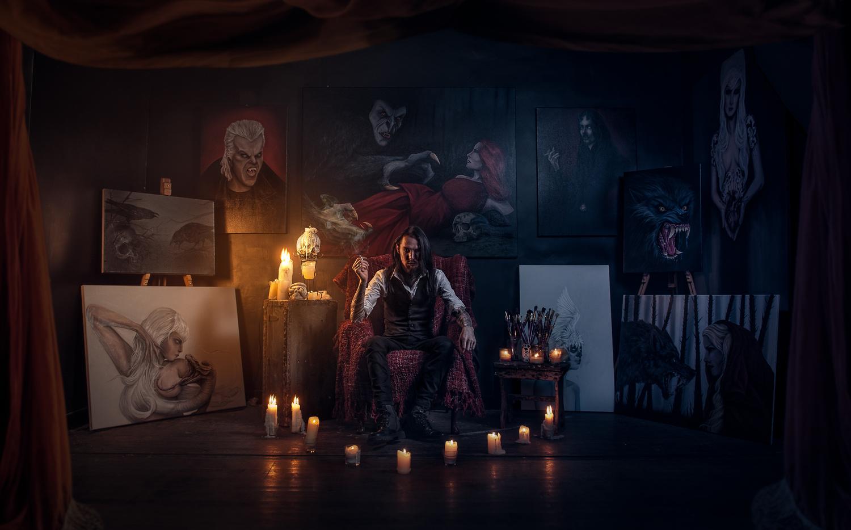 The Dark artist by Clinton Lofthouse