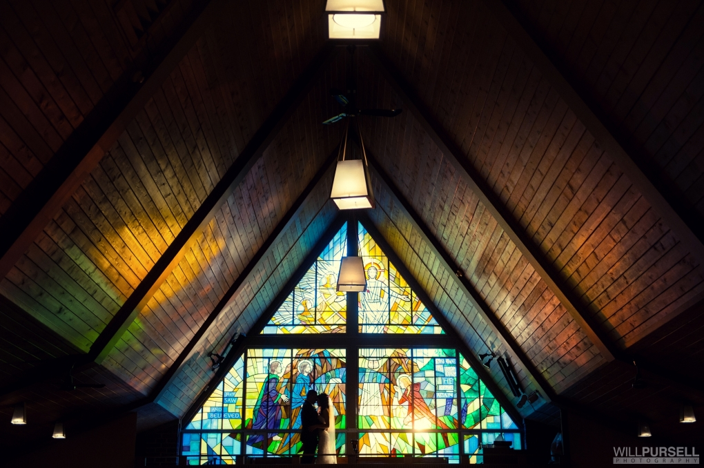 stain glass silhouette    by Will Pursell