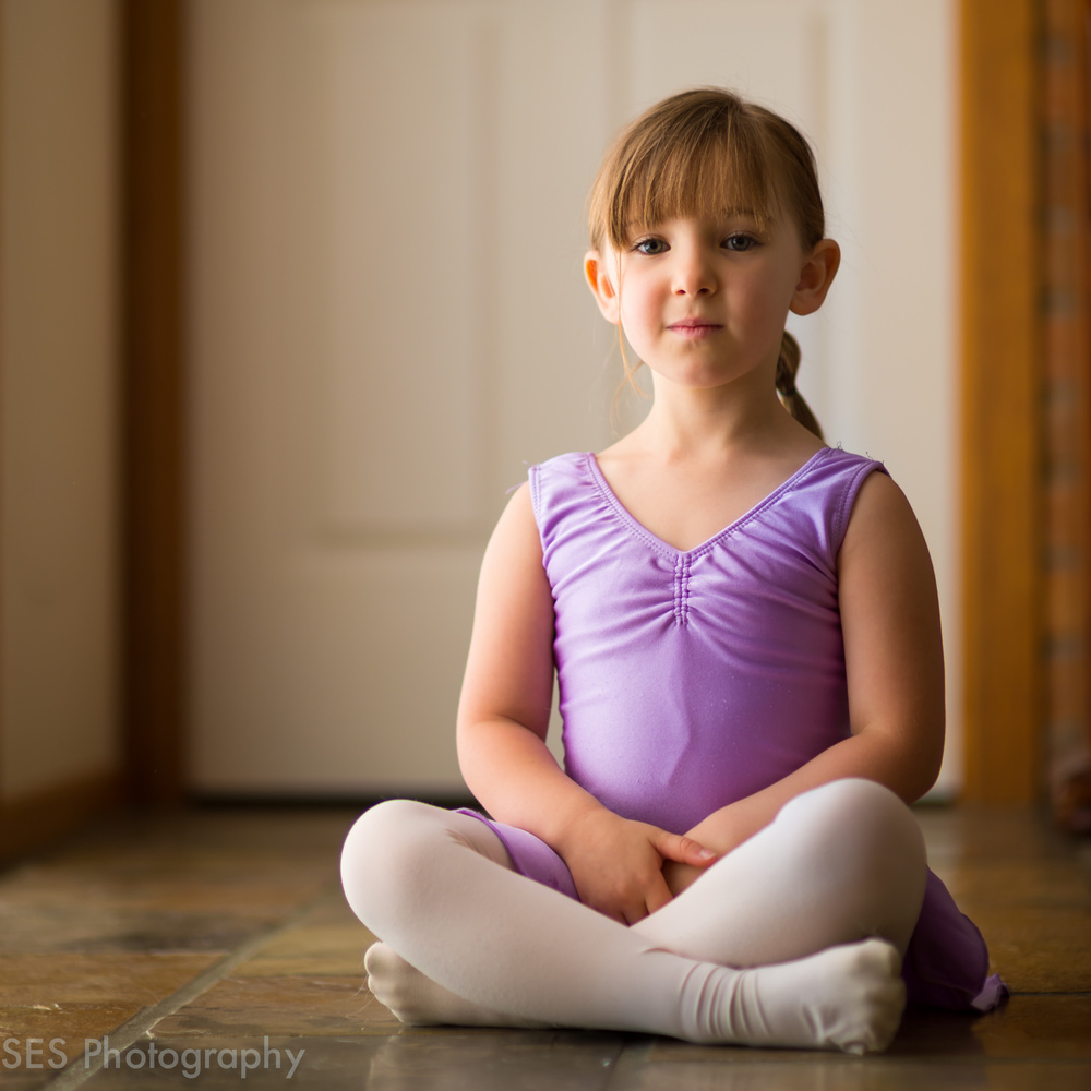 Future ballerina by Issac Gill