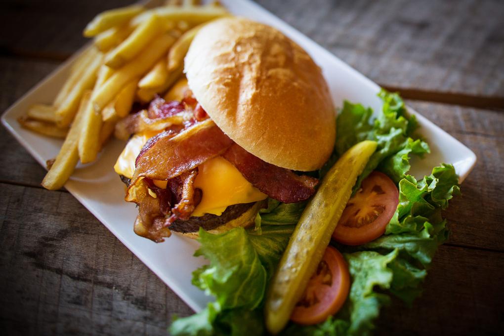 Bacon Burger by Jason Connel