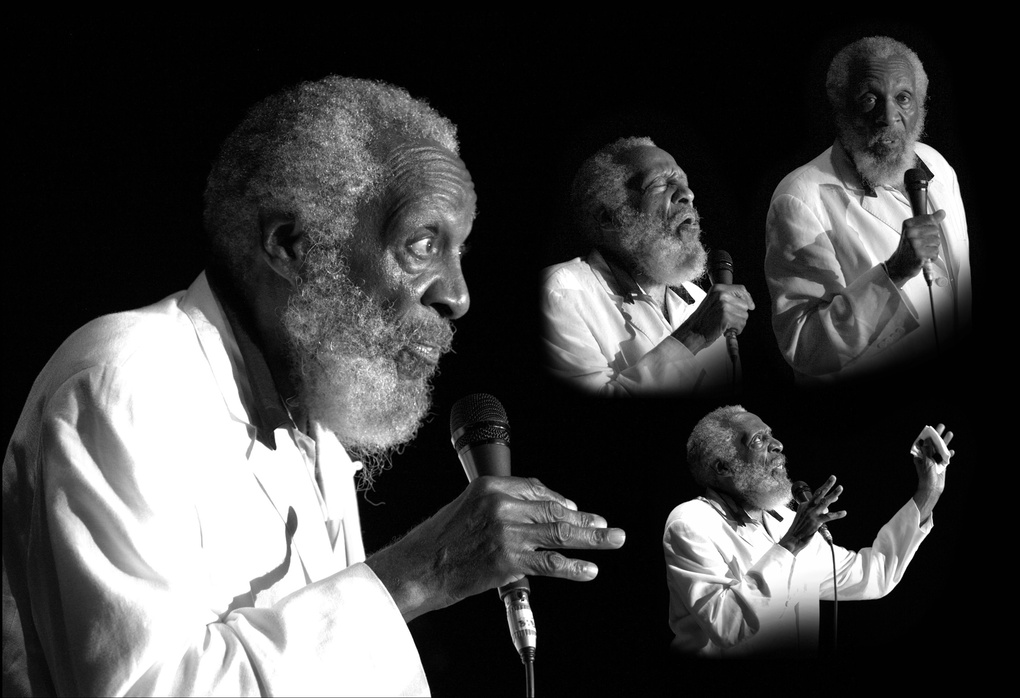 Dick Gregory by Jo Mar