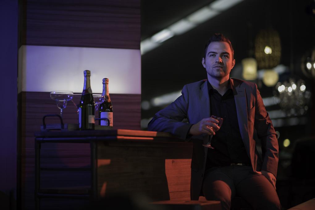 Fake night club by Trevor Moore