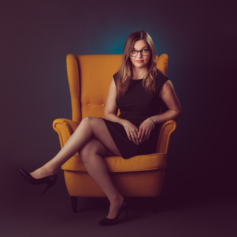 Yellow Chair by Anthony Tscherne