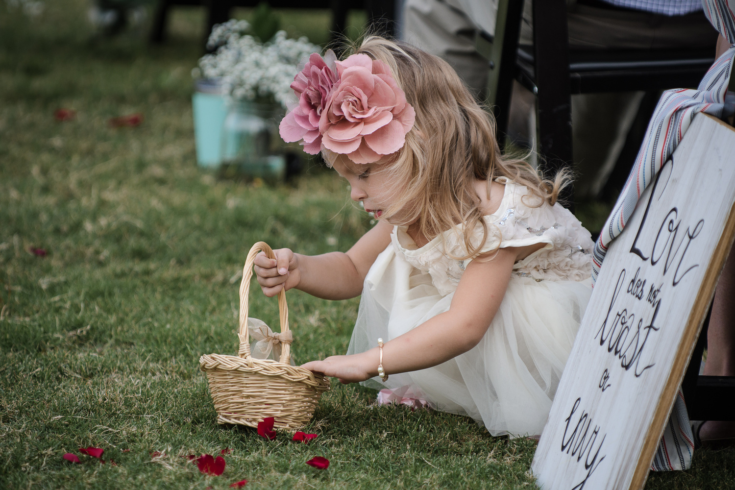 Kids at The Wedding by Bill Wells