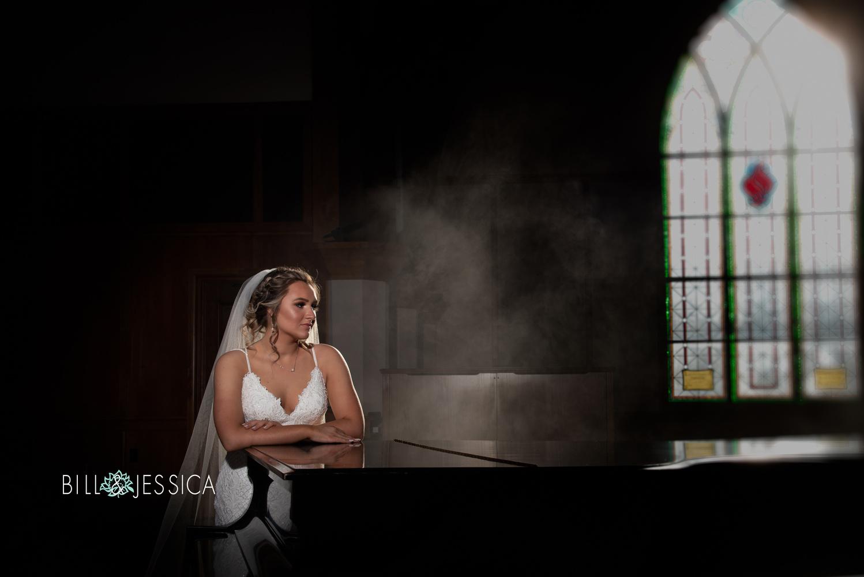 Piano Bride by Bill Wells