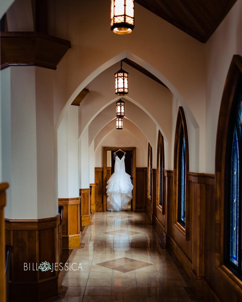 Iconic Wedding Dress by Bill Wells