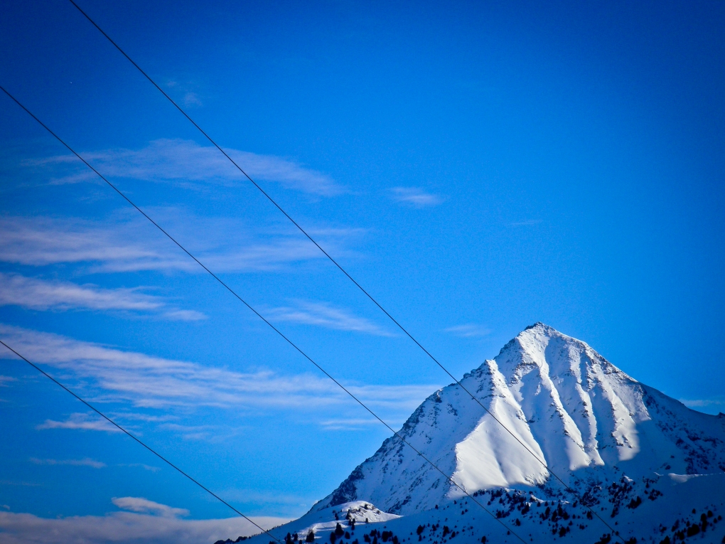 cable mountain by Stewart Paterson