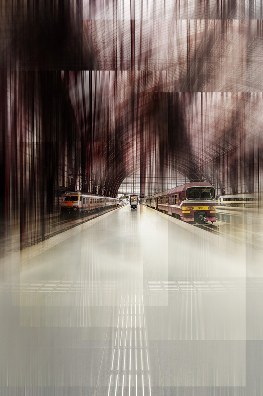 Cathedrals of technique - Mainstation Antwerp. by Michael Bergmann