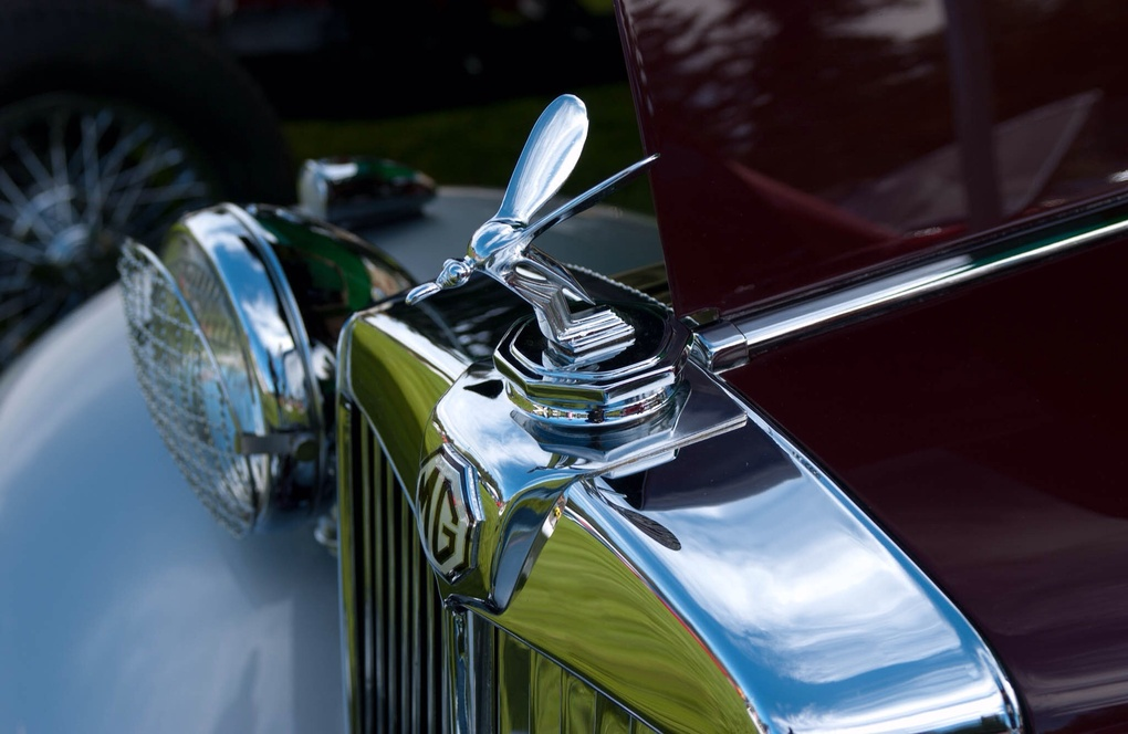 MG hood ornament by Don Kennedy