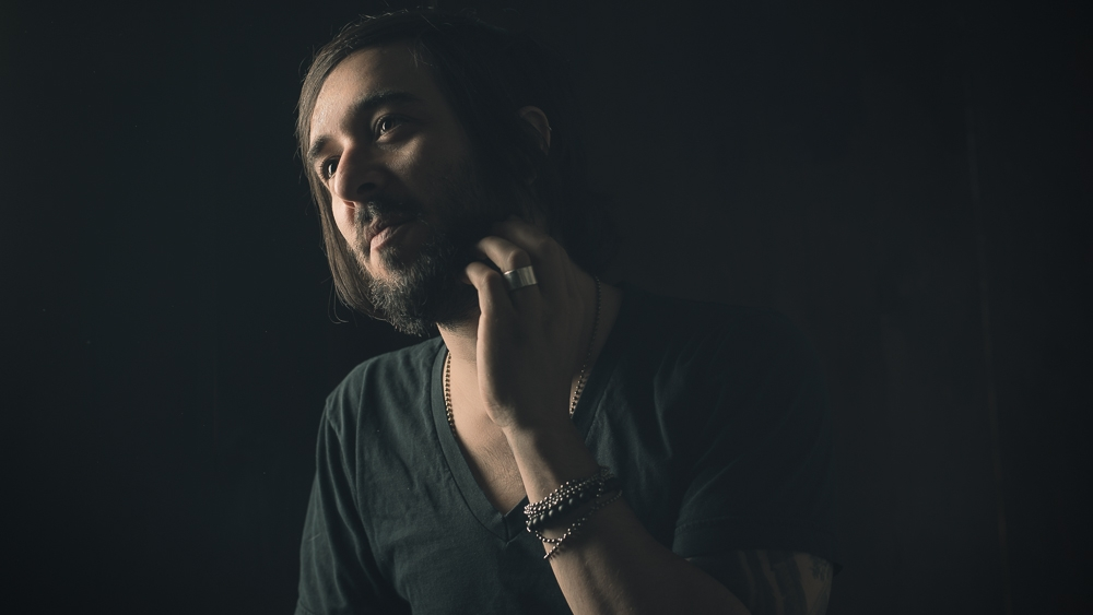 Musician Erik Kertes by jason flynn
