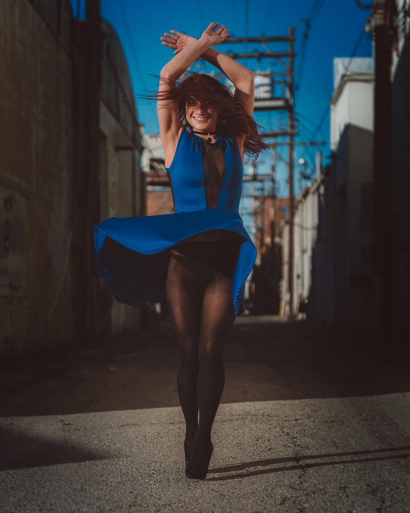 Blue Dress spin by Matt Rennells