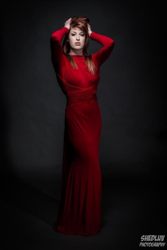 Red dress by Matt Rennells