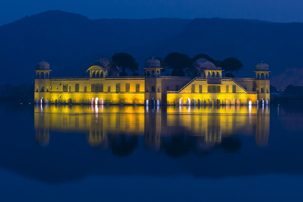 Jal Mahal - Jaipur, India by Josh Eskridge