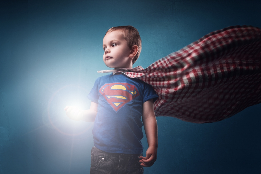SuperLeo (boy of steel) by Anthony Passant