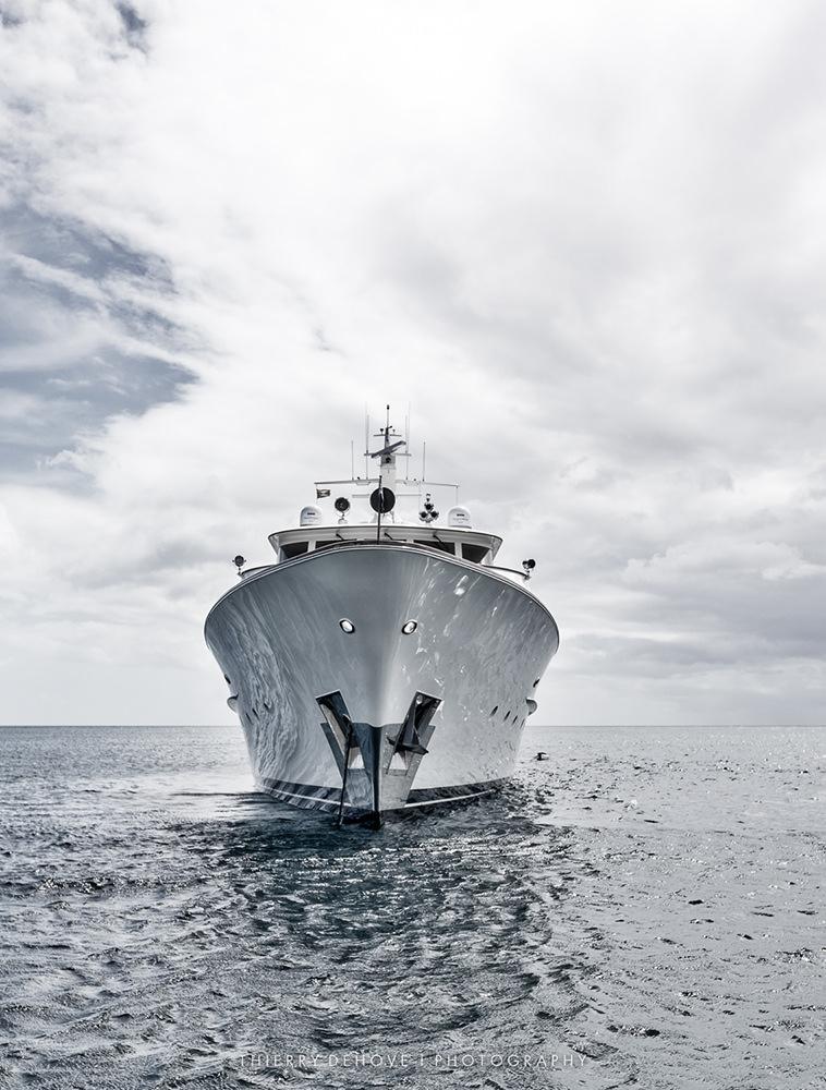 Mega Yacht Berilda in Barbados by Thierry Dehove