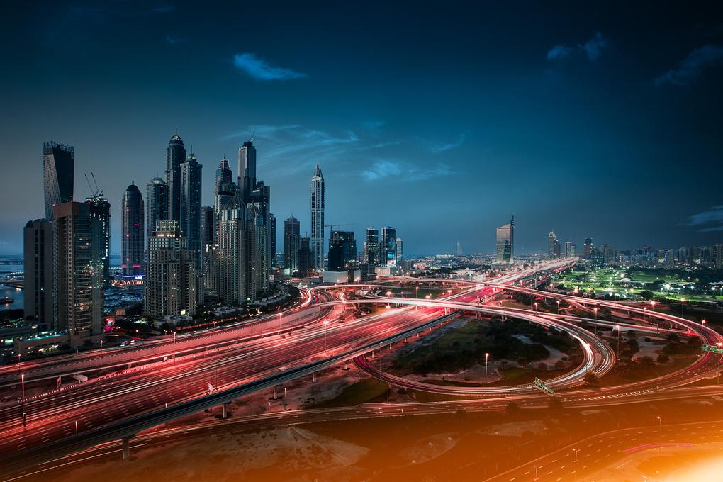 Dubai.. City of Life by Karim Hesham