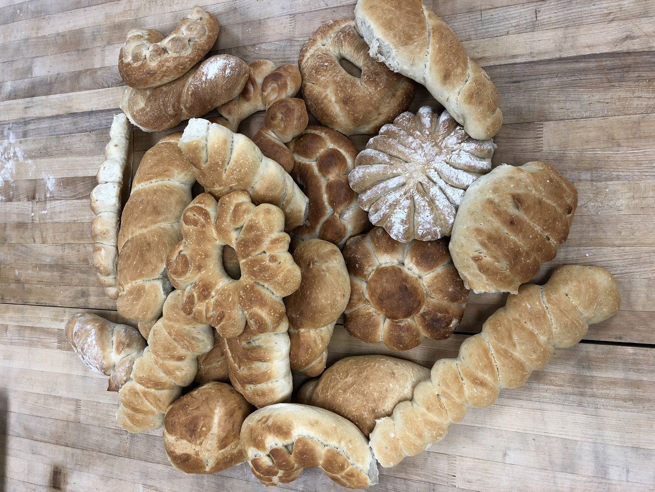 French country breads by Loughton Smith