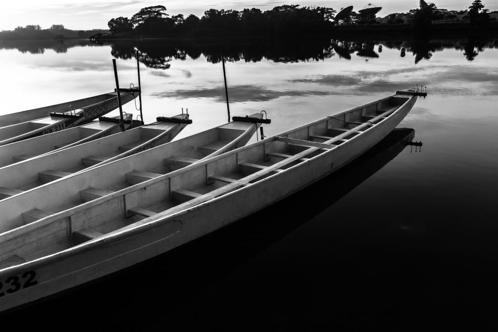 Boats by Ravikumar Jambunathan