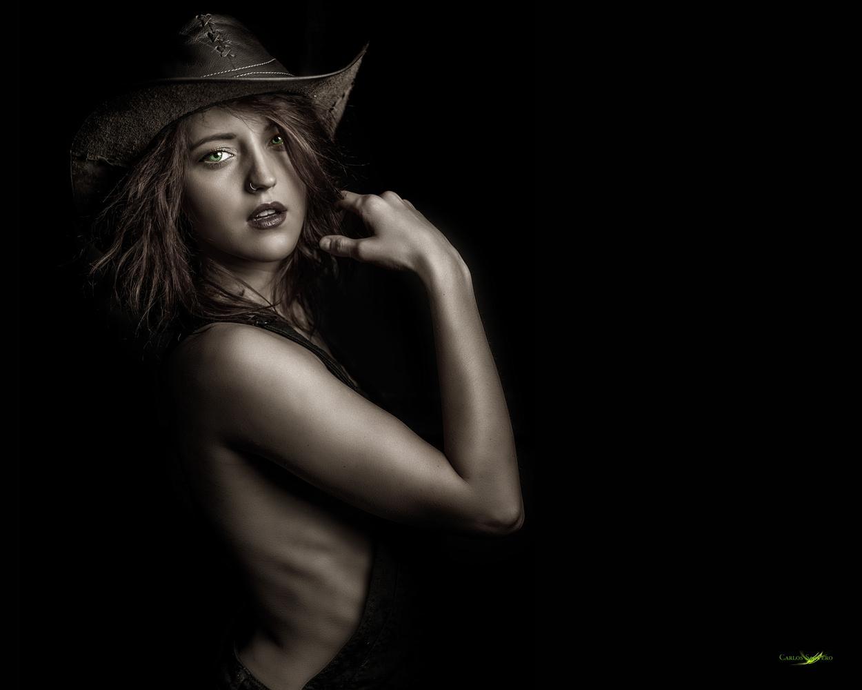 Sex Cowgirl by Carlos Santero
