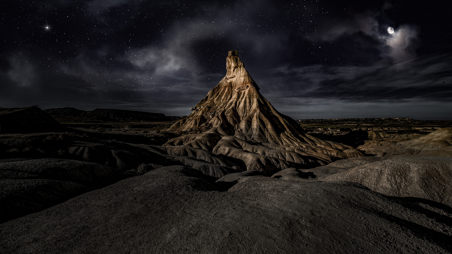 Badlands Bardenas by Carlos Santero