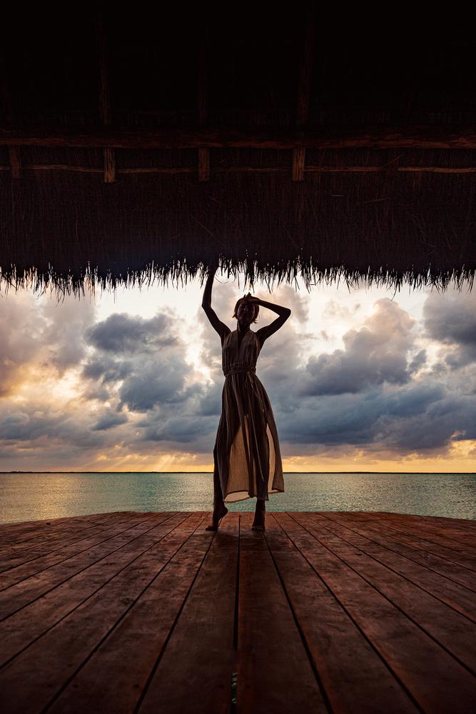 Sian Ka´an - Tulum Shooting with Eka by Gabriel Barranco