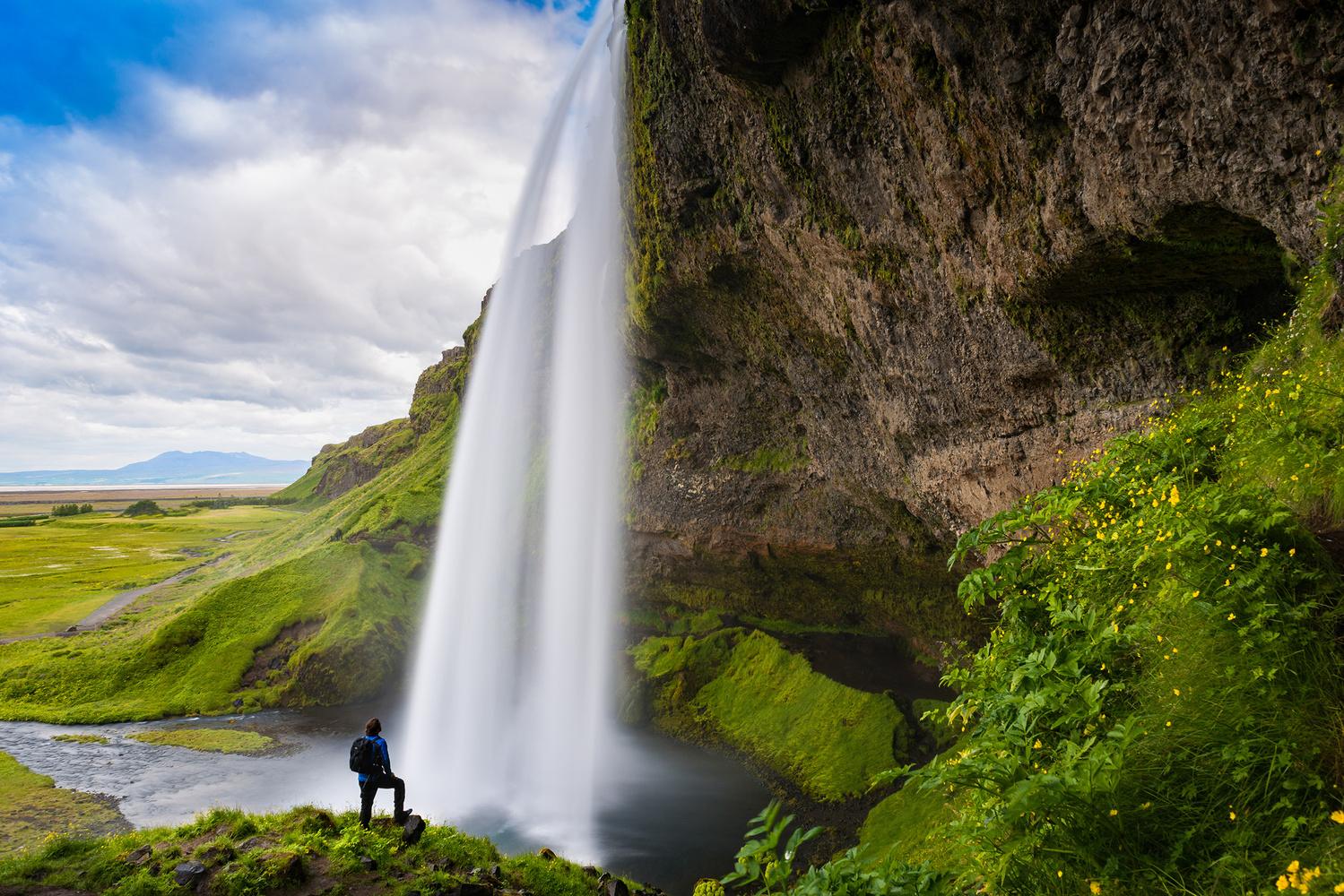 Seljalandsfoss by Wayne Denny
