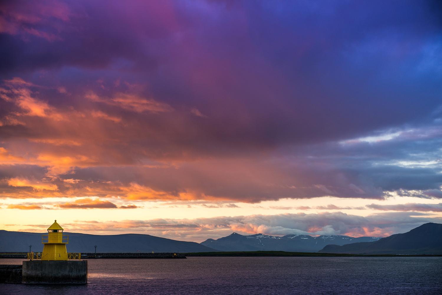 Reykjavik Harbor by Wayne Denny