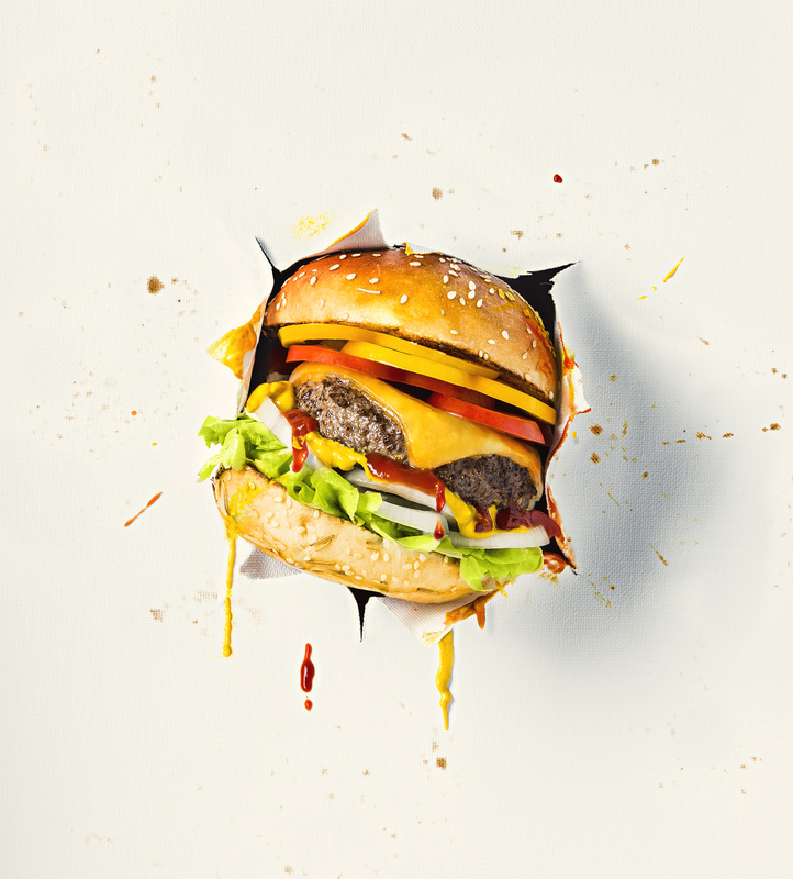 Burger Smash by Nick Ghattas