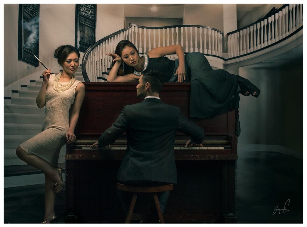 Piano Man by Jason Matias