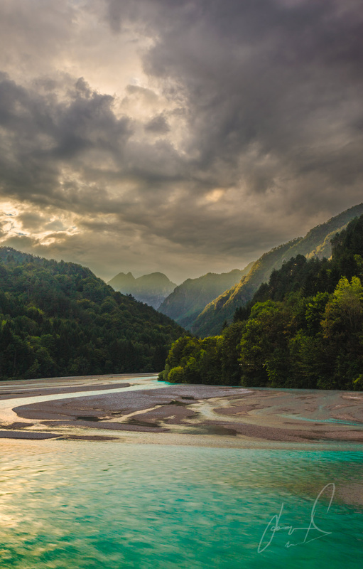 Emerald Light | Barcis Lake, Italy by Jason Matias