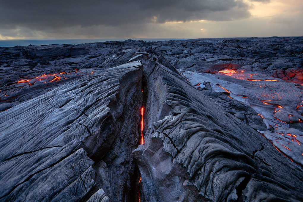 Lesion Kalapana Lava Fields Hawaii Photo Of The Day