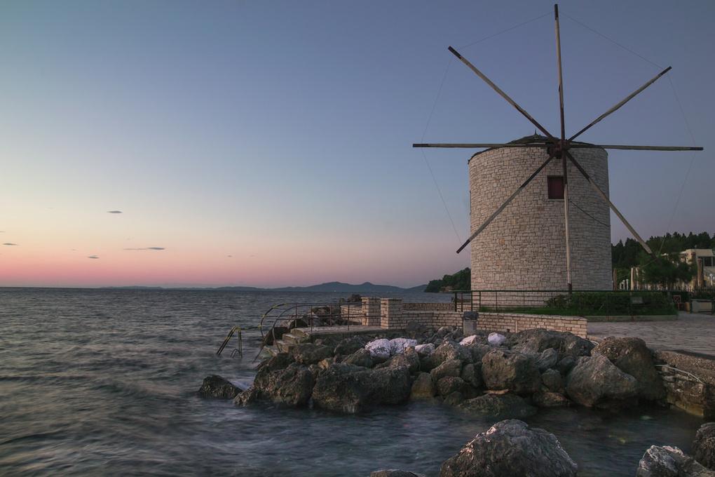 Windmill by Pierre Zaharakis