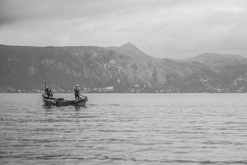 Fisherman by Pierre Zaharakis