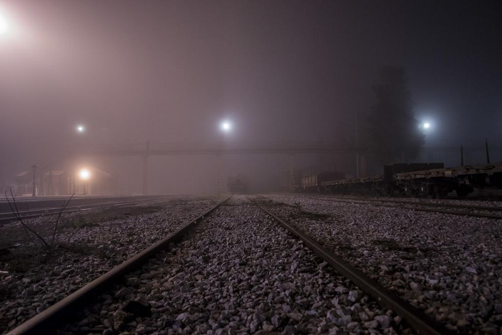 Foggy Night by Pierre Zaharakis
