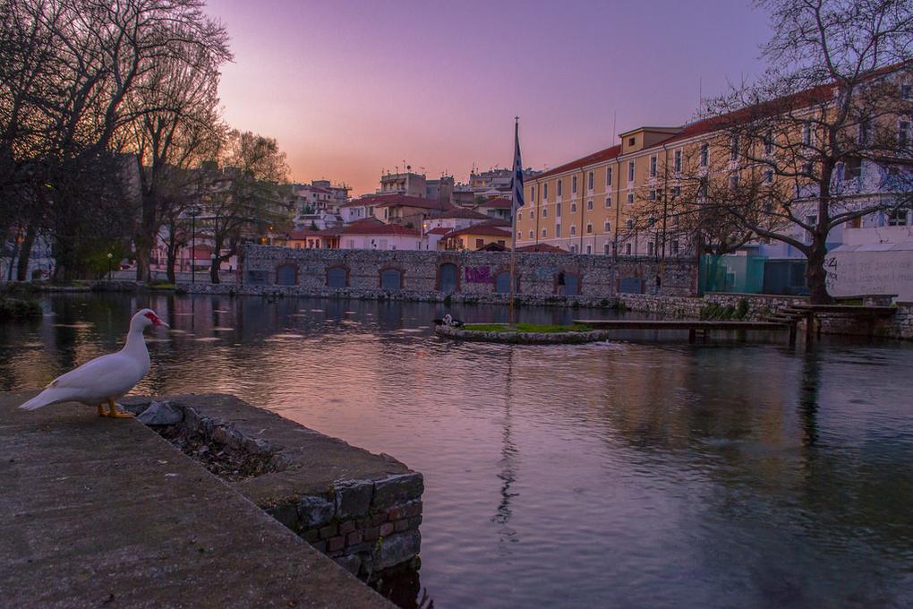 Sunset by Pierre Zaharakis