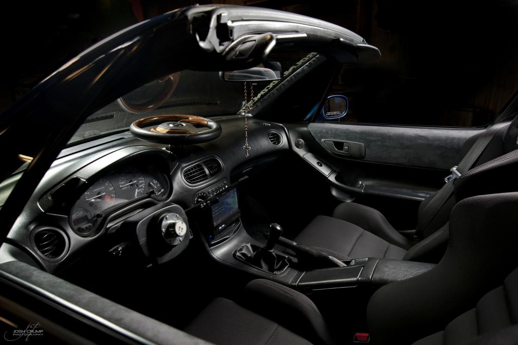 Honda Del Sol Interior by Josh Crump