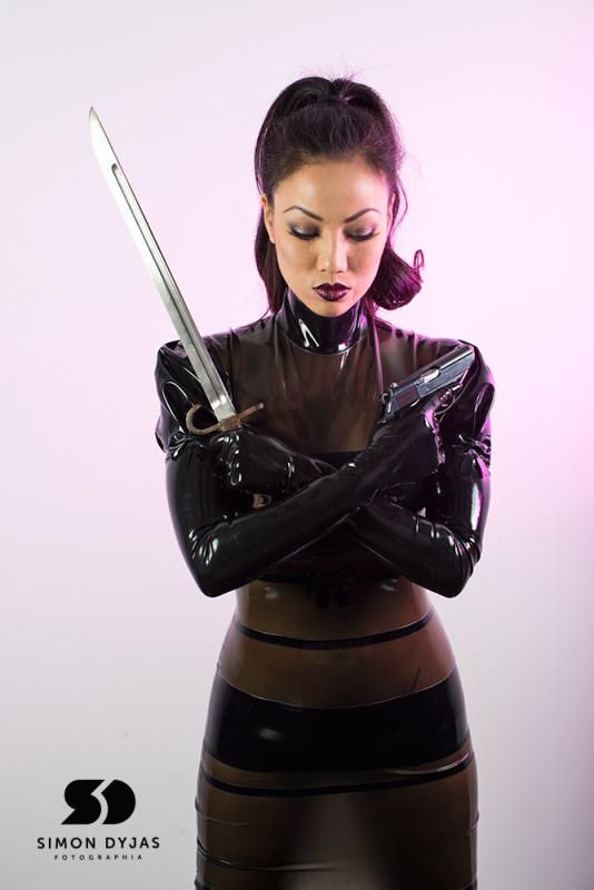 Jade Vixen Assassin Litany by Simon Dyjas