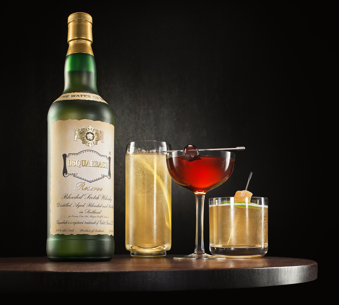 Scotch Whiskey Coktails by Yechiel Orgel