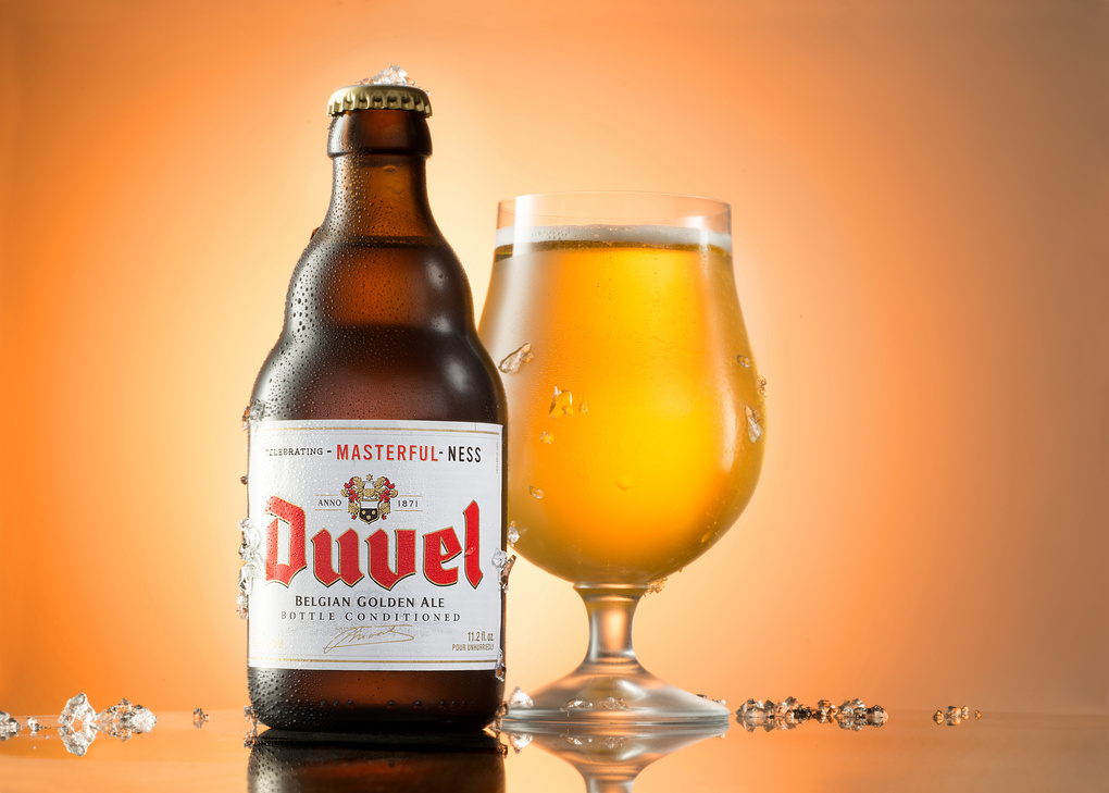 Ice Cold Duval Beer by Yechiel Orgel