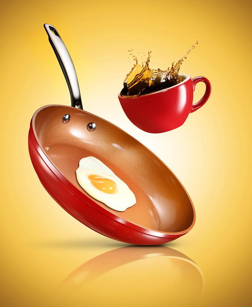 Flying breakfast Campaign by Yechiel Orgel