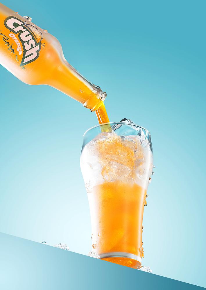Crush Beverage shoot 2017 by Yechiel Orgel
