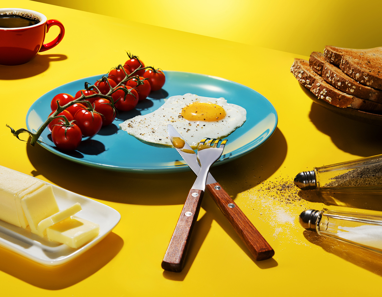 Flying breakfast Project by Yechiel Orgel