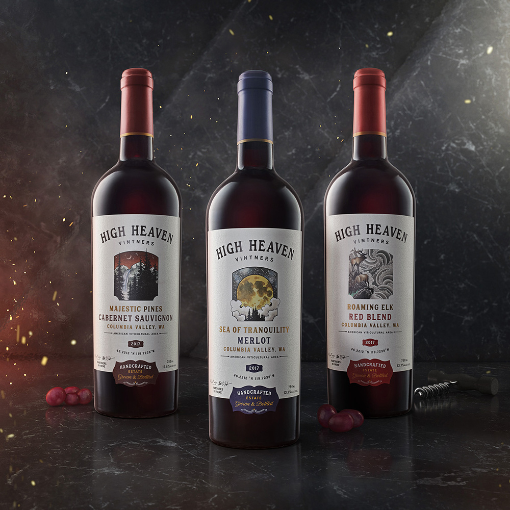 High Heaven Wine Campaign by Yechiel Orgel