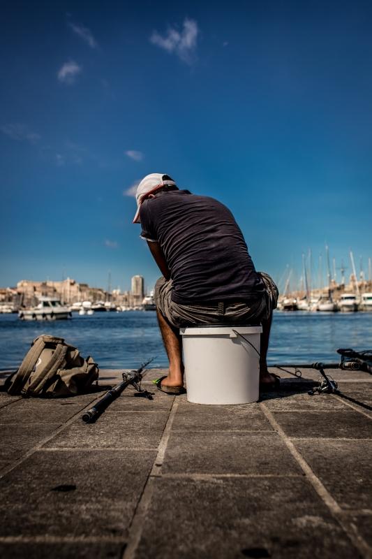 Fisherman by Karl Delandsheere